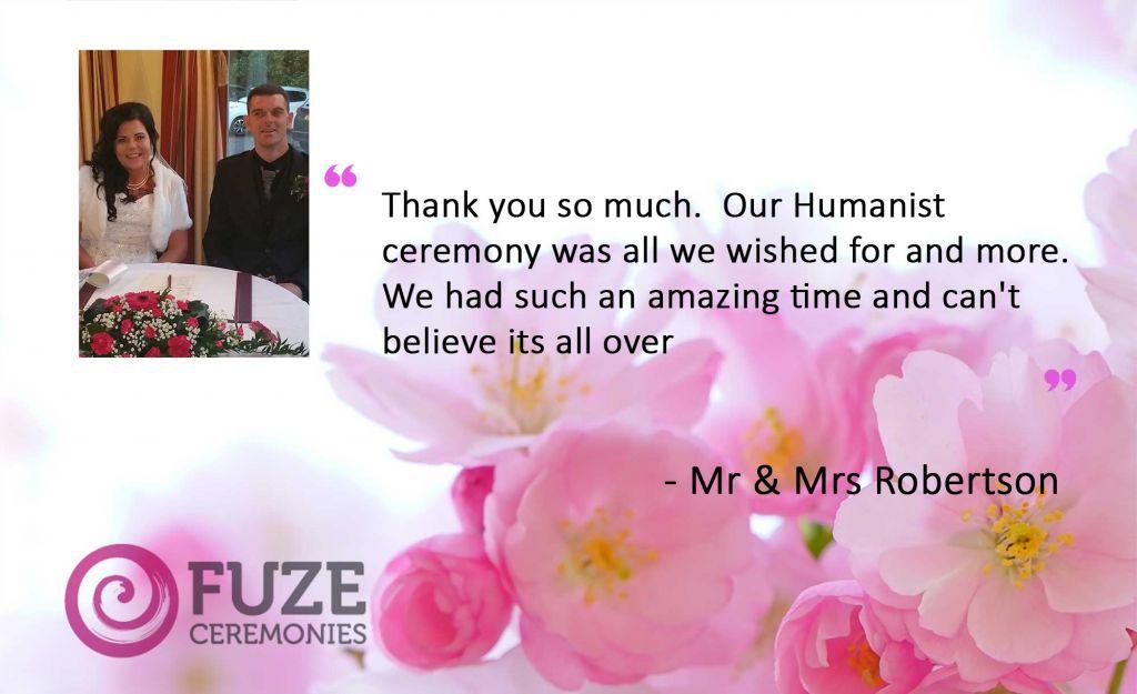 Fuze Ceremonies testimonial
