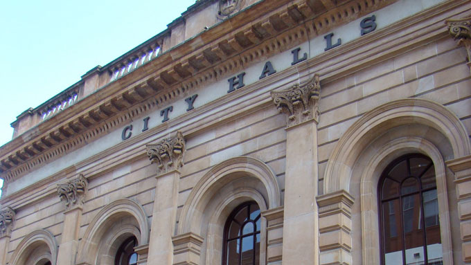Glasgow Wedding in City Halls
