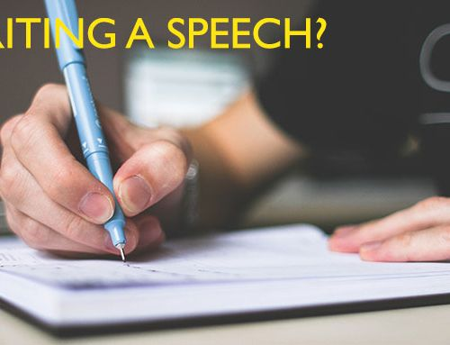 Writing a speech?
