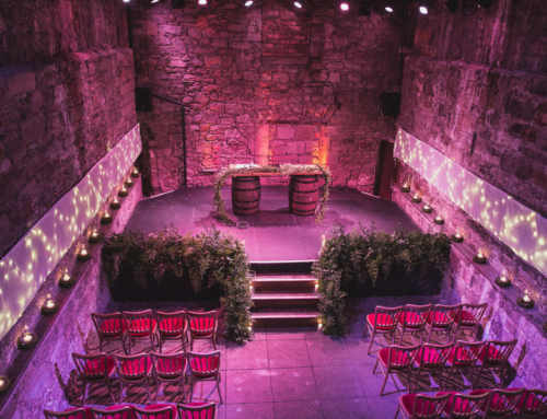 An A-Z of Incredible Scottish Wedding Venues: The Caves, Edinburgh