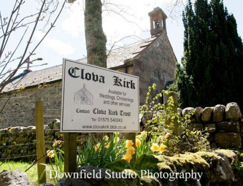 An A-Z of Incredible Scottish Wedding Venues:  Glen Clova Kirk & Hotel