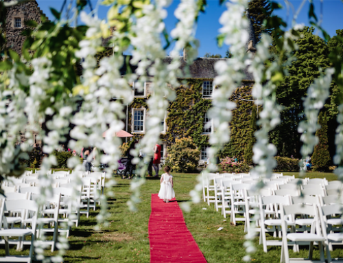 An A-Z of Incredible Scottish Wedding Venues: Fernie Castle, Fife