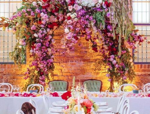 Flower Power:  It's all about the Arch
