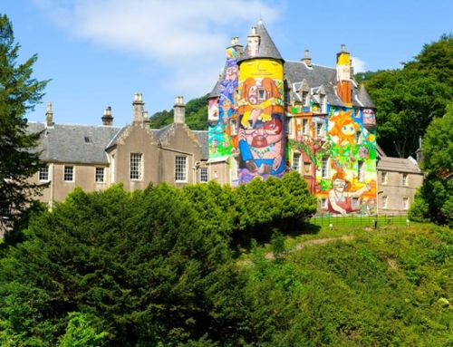 An A-Z of Incredible Scottish Wedding Venues:  Kelburn Castle & Estate, Ayrshire