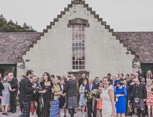 An A-Z of Incredible Scottish Wedding Venues:  The Molteno Hall, Fortingall