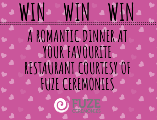 Competition Time:  WIN A ROMANTIC DINNER