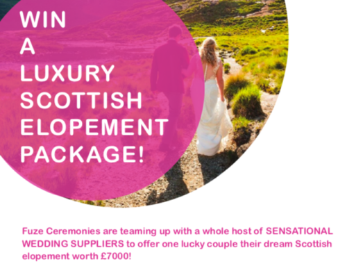 WIN A LUXURY SCOTTISH ELOPEMENT:  It's Competition Time