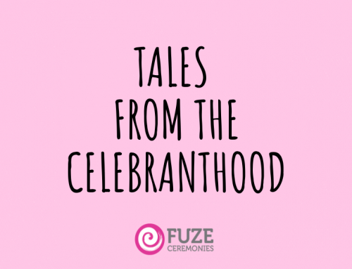 Tales From the Celebranthood:  The Beginning!